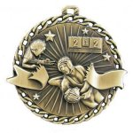 Burst Thru Medal -Wrestling  Wrestling Trophy Awards