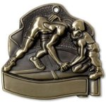 M2000 Series Medal Awards -Wrestling  Wrestling Trophy Awards
