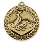 Wreath Medal -Wrestling  Wrestling Trophy Awards