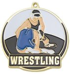 High Tech Medal -Wrestling  Wrestling Trophy Awards