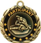 3D Die Cast Medal -Wrestling Wrestling Trophy Awards