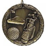 XR Medals -Golf  XR Series Medal Awards