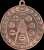 Illusion Medals -Academic  Math Scholastic Trophy Awards